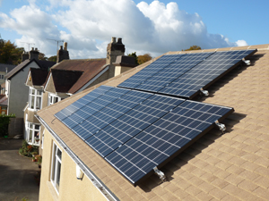 Hampton Electrical Systems Ltd, Stroud Solar PV system