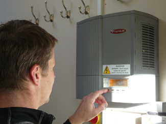 Hampton Electrical Systems Ltd Stroud, Fronius Inverter