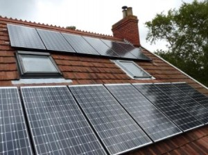 3.8kW Schott solar pv system in Wotton-Under-Edge by Hampton Electrical Systems in Stroud